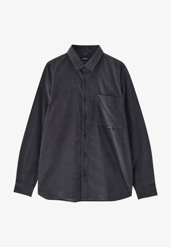 Skjorta - mottled dark grey