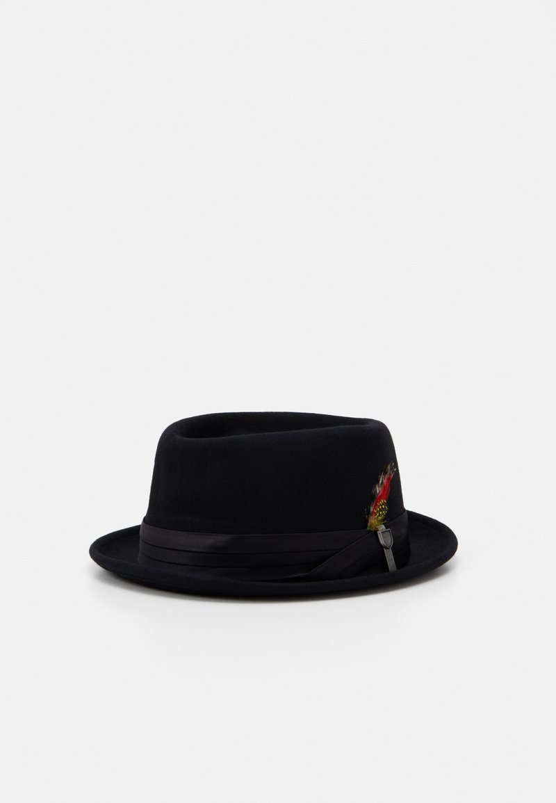 Brixton - STOUT PORK PIE UNISEX - Hatt - black