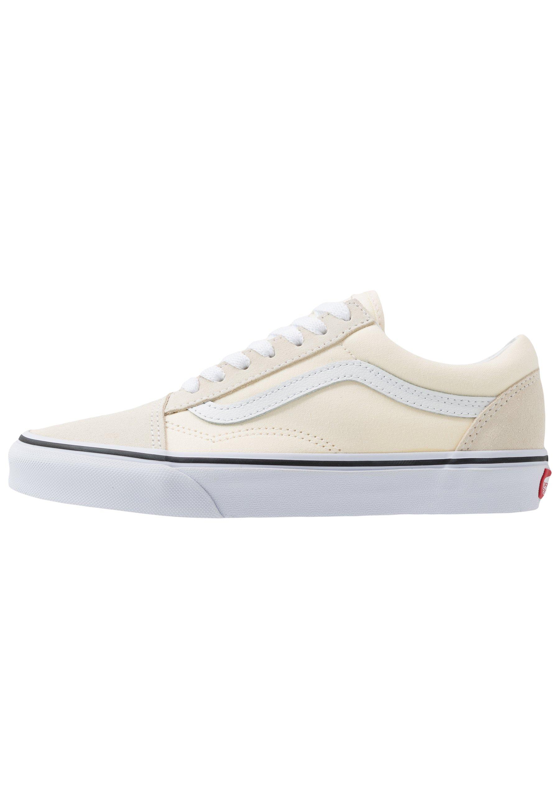 Vans OLD SKOOL UNISEX - Trainers - classic white/true white/off ...