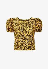 Desigual - ANIMAL PRINT - Print T-shirt - yellow - 4