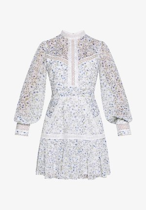 MADDISON TRIM SPLICE DRESS - Robe d'été - white
