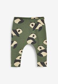 Next - 3 PACK  - Leggings - Trousers - green - 1