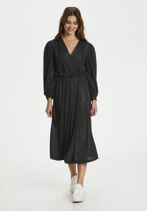 CRHIKA - Jersey dress - pitch black