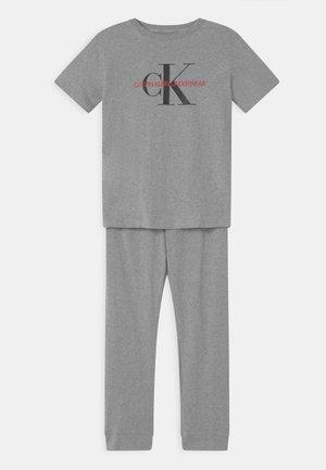 UNISEX - Pyjama set - grey heather