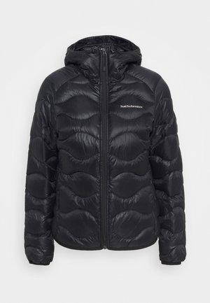 HELIUM HOOD JACKET - Gewatteerde jas - black