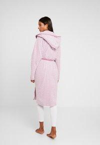 TOM TAILOR - STRIPE BATHROBE - Dressing gown - mauve - 2