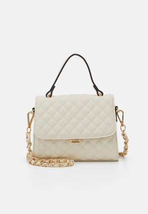 KIBARA - Bolso de mano - bone/light gold