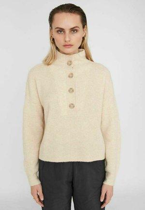 Jersey de punto - off white melange
