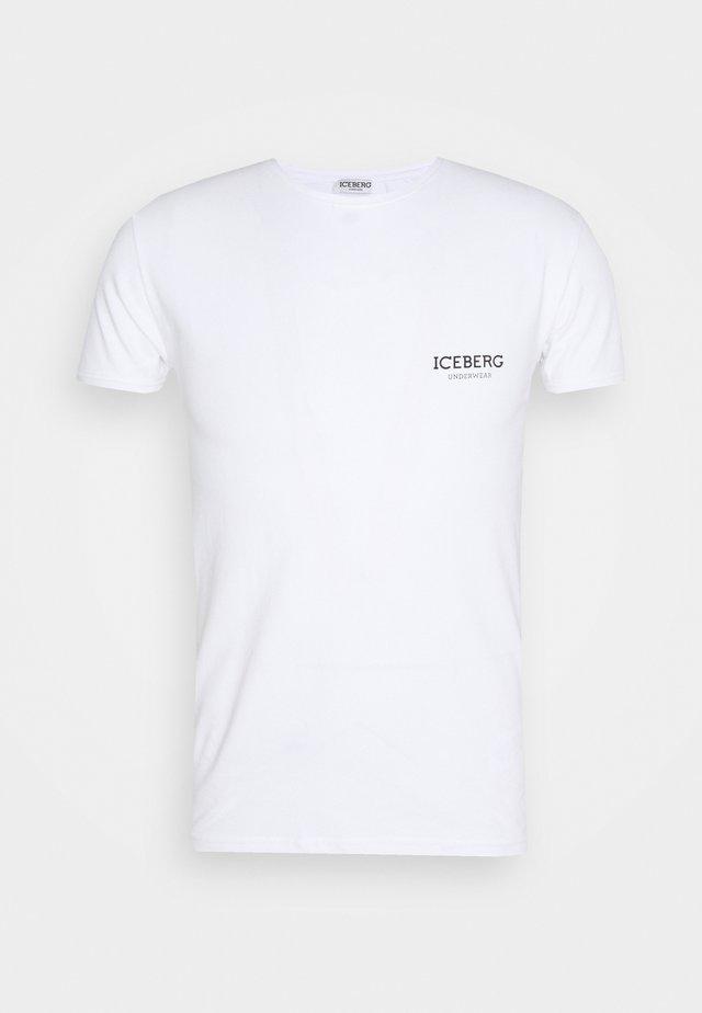 ROUND NECK - Undershirt - white