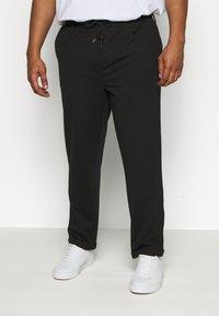 INDICODE JEANS - EBERLEINPLUS - Trousers - black - 0