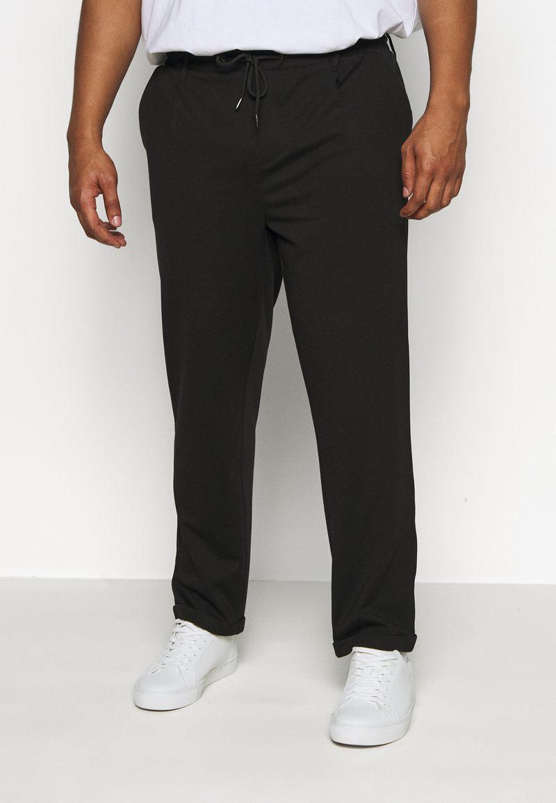 INDICODE JEANS - EBERLEINPLUS - Trousers - black