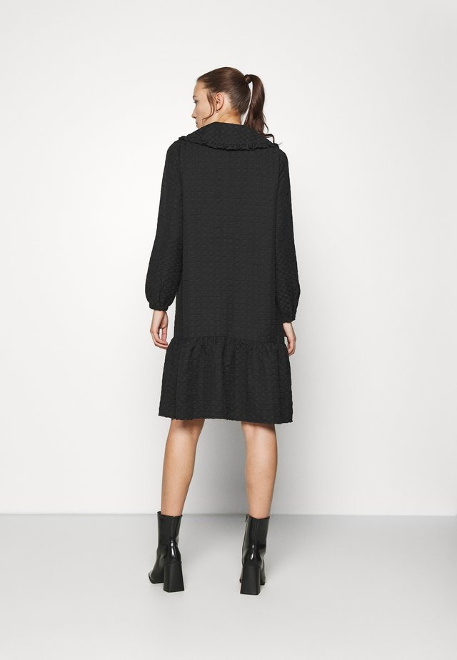 BABETH DRESS - Shirt dress - black