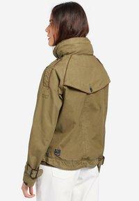 khujo - STACEY - Light jacket - khaki - 2