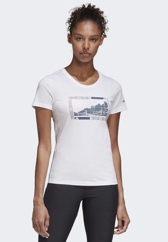 TERREX GRAPHIC T-SHIRT - T-shirt imprimé - white
