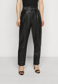 ONLY Petite - ONQNANNY - Trousers - black - 0