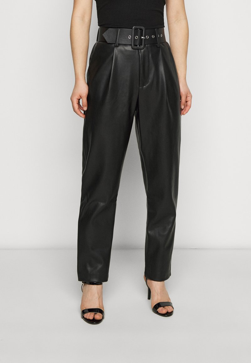 ONLY Petite - ONQNANNY - Trousers - black