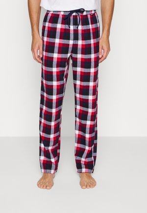PYJAMAS PANTS - Pyjama bottoms - red/blue