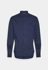 FLEX CIRCLE DOT PRINT SHIRT - Shirt - yale navy/colorado indigo