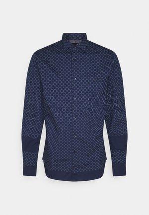 FLEX CIRCLE DOT PRINT SHIRT - Overhemd - yale navy/colorado indigo