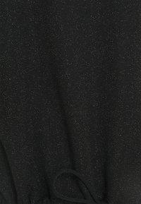 Opus - SILKINA GLITTER - Topper langermet - black - 2