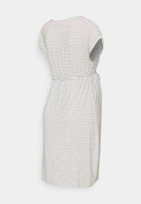MAMALICIOUS - MLALISON DRESS  - Jersey dress - snow white / black - 1