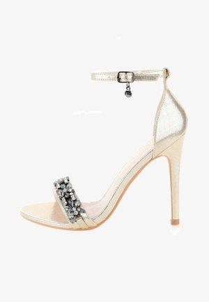FABBRICHE - High heeled sandals - gold