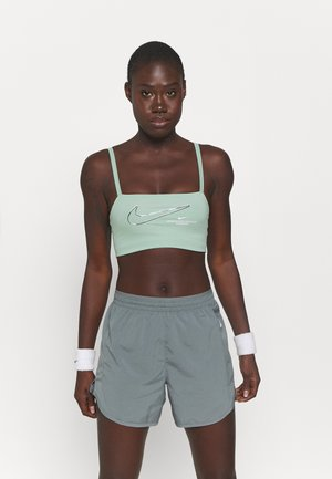 INDY PACK BRA - Light support sports bra - steam/white