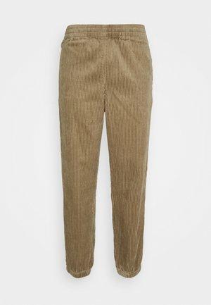 JON TROUSERS - Spodnie materiałowe - beige