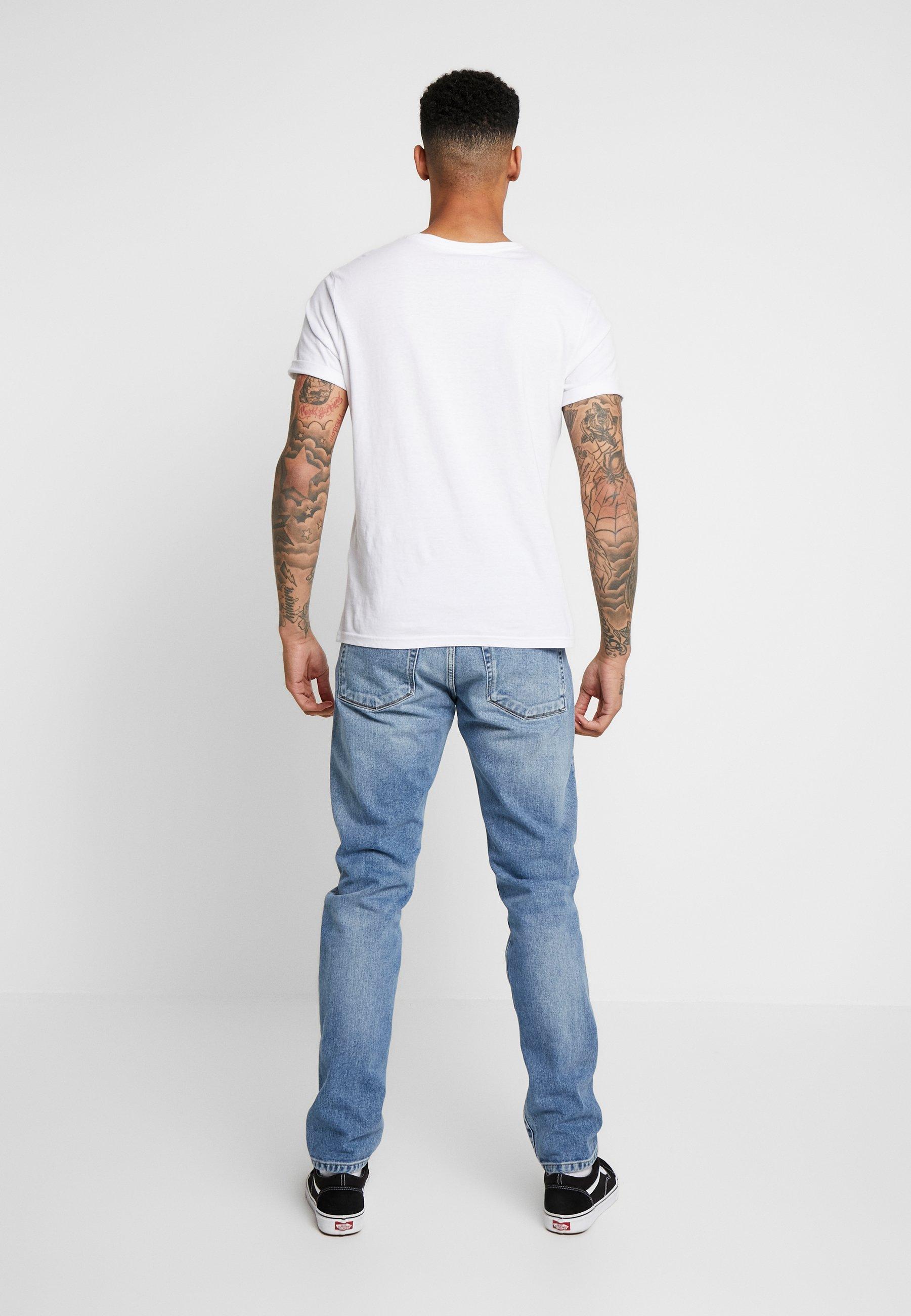 Hyvä Myynti Miesten vaatteet Sarja dfKJIUp97454sfGHYHD Carhartt WIP VICIOUS PANT MAITLAND Slim fit -farkut blue worn bleached