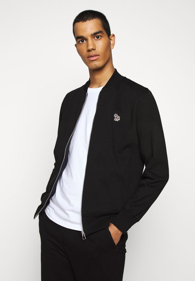 MENS ZIP - veste en sweat zippée - black