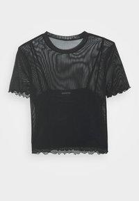 Even&Odd - Print T-shirt - black - 5