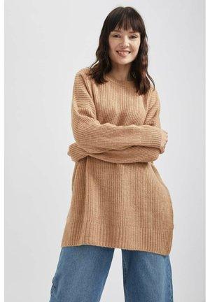 DEFACTO  - Jumper dress - beige