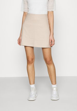 RIVER SKIRT - Mini skirt - beige
