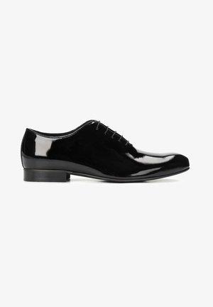 OWEN - Šněrovací boty - black