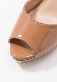 Dorothy Perkins - SORBET PLATFORM - Sandaler med høye hæler - nude - 2
