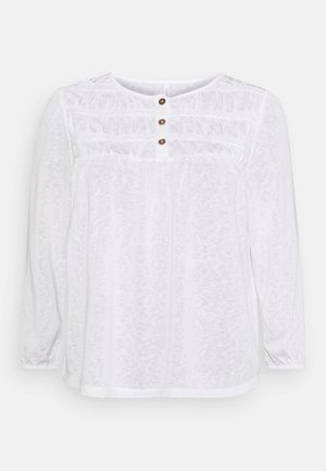ONLVANESSA - Long sleeved top - cloud dancer