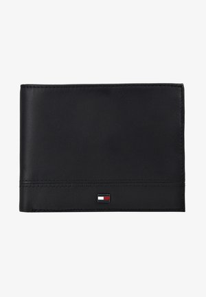 ESSENTIAL FLAP AND COIN - Peněženka - black