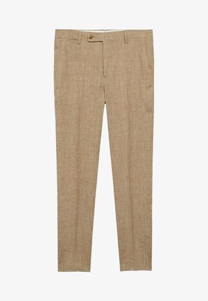 MIAMI - Suit trousers - beige