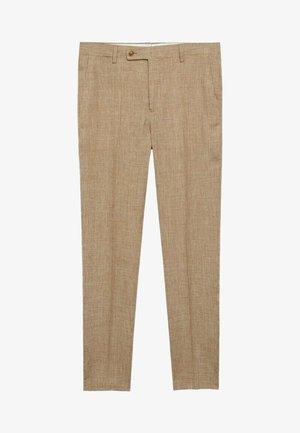 MIAMI - Anzughose - beige
