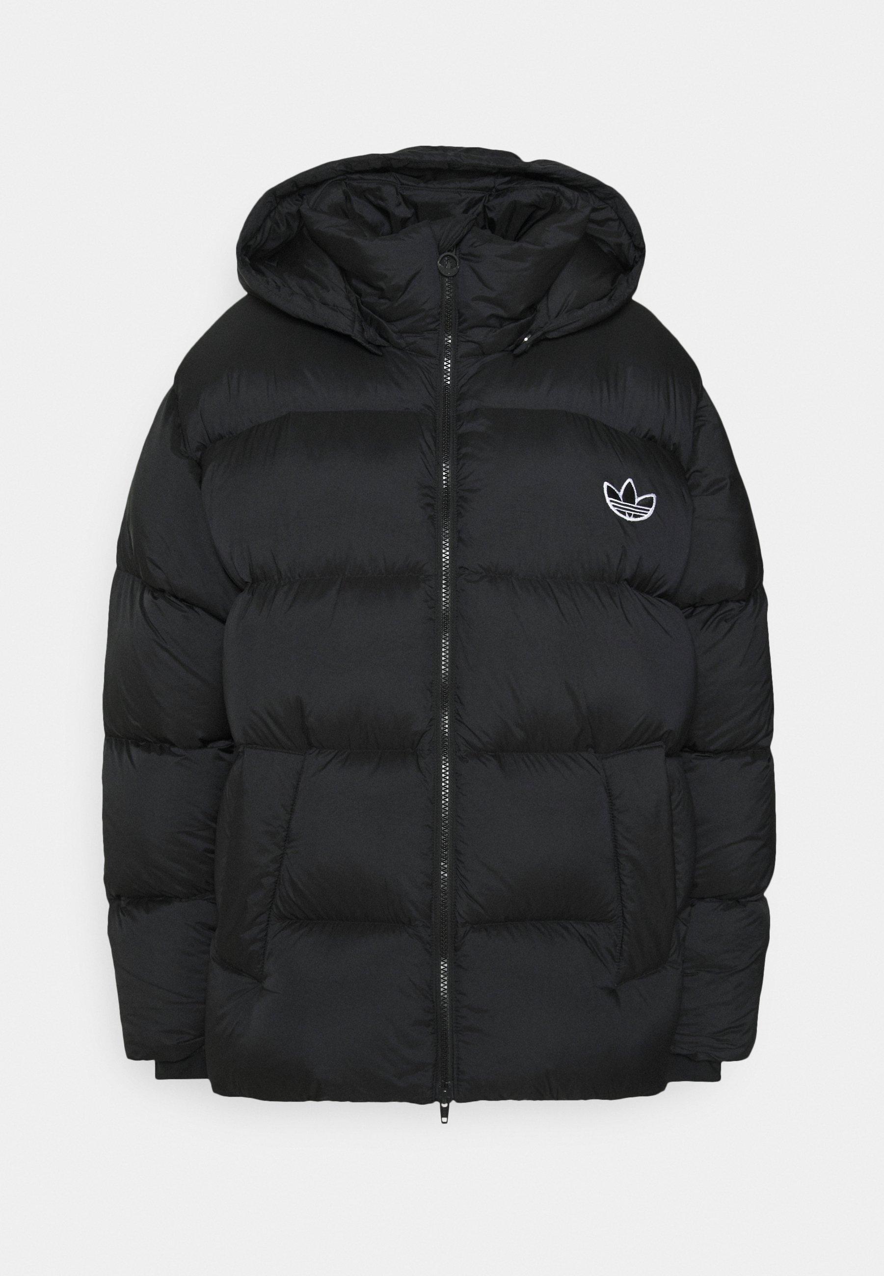 adidas Originals REGEN PUFF Dunjakke blacksvart
