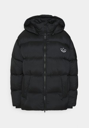 WINTER LOOSE JACKET - Down jacket - black