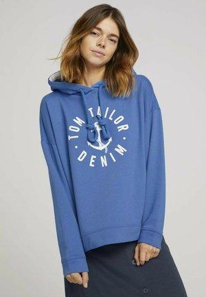 Bluza z kapturem - mid blue