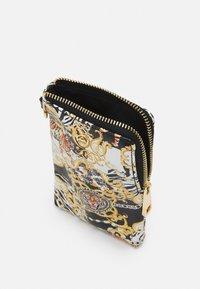 ALDO - GWAMMA SET - Across body bag - black/gold multi - 2