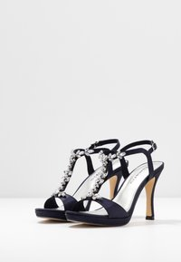 Tamaris - High heeled sandals - navy metallic - 4