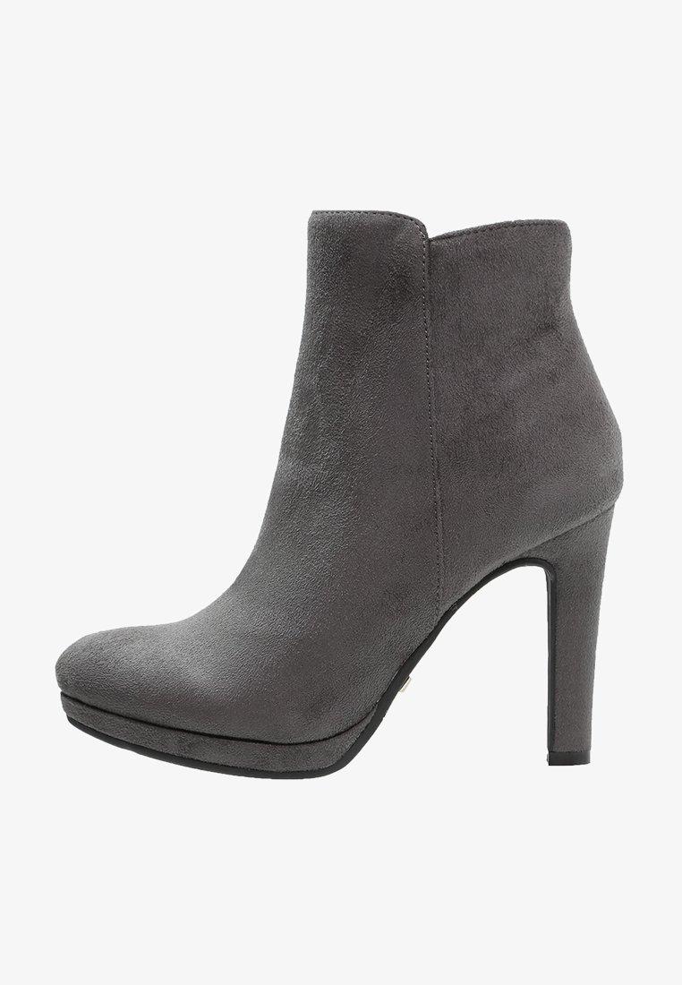 Buffalo - High heeled ankle boots - grey