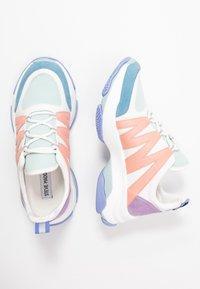 Steve Madden - CREDIT - Sneakers - mint/multicolor - 3