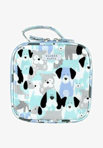 A DOGS LIFE SMALL SQUARE - Wash bag - blau