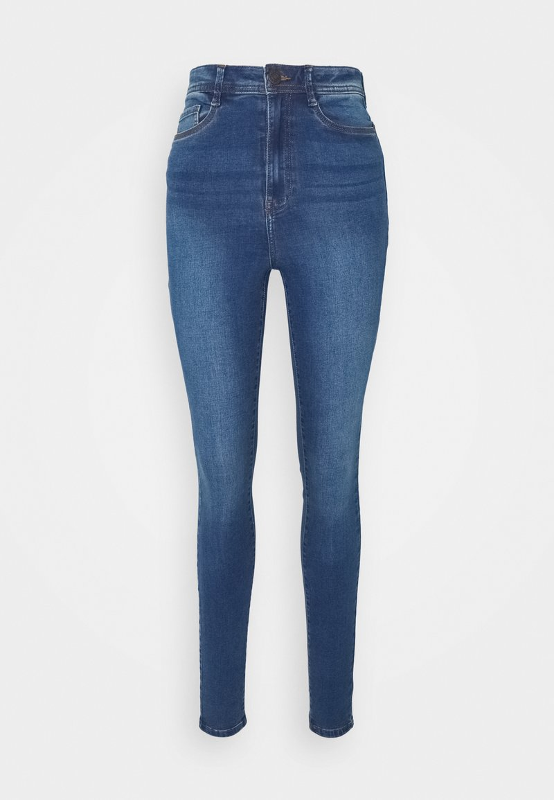 Noisy May Tall - NMAGNES  - Jeans Skinny Fit - medium blue denim