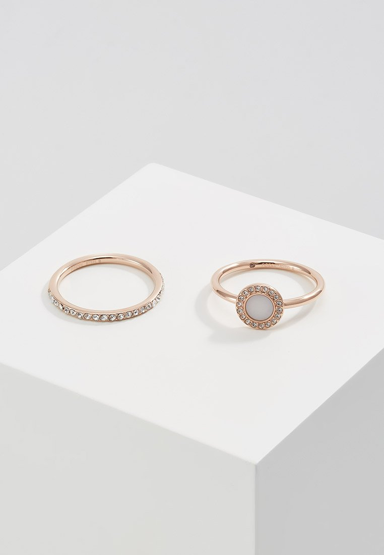 Fossil - CLASSICS 2 PACK - Ring - rose gold-coloured