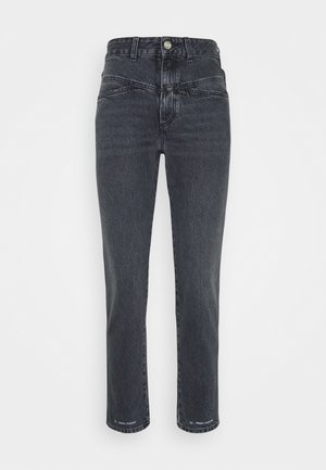PEDAL PUSHER - Jeans Straight Leg - mid grey